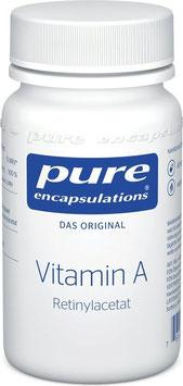 PURE Vitamin A, 60 Kapseln - pcode 7086542