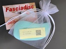 Fasciadisc Einzel für die Selbstmassage mit Anleitung