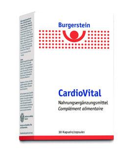 Burgerstein CardioVital, 30 Kapseln - pcode 7794488