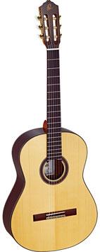 Ortega M58 CS Custom Master, Vollmassive Meistergitarre