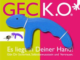 GECK.O. Schlüsselanhänger - BLUE