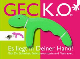 GECK.O. Schlüsselanhänger - GREEN