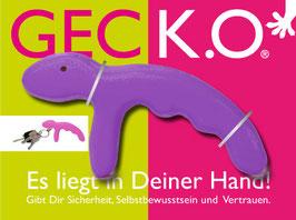 GECK.O. Schlüsselanhänger - PURPLE