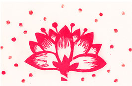 Geschirrtuch Lotus