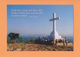 Grußkarte - Bibelwort (Joh 12,32)