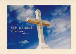 Grußkarte - Bibelwort (Off 21,5)