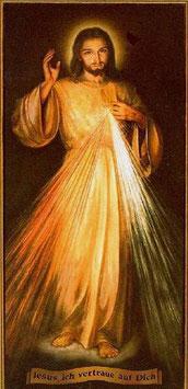 Barmherziger Jesus Ganzdarstellung