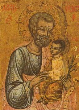 Hl. Josef mit Kind und Lilie