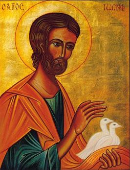Hl. Josef mit Tauben