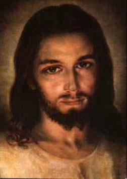 Barmherziger Jesus Gesicht