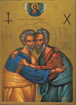 Hl. Petrus und Hl. Andreas
