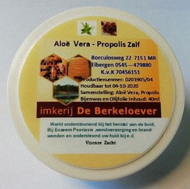 Aloë Vera - Propoliszalf                  (Psoriasiszalf)