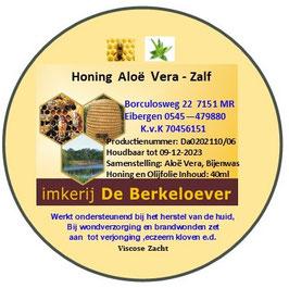 Honing - Aloe Vera Zalf