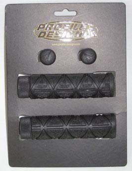 PROFILE DESIGN LOGO Griffe Gummi schwarz