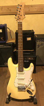 Career Stage-1 E-Gitarre Vintage White