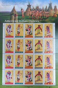 アメリカインディアンの飾り