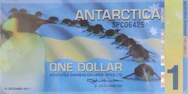 南極1ドル   未使用