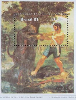 ターザンと戦うトラ ブラジル
