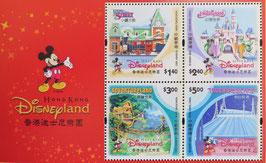 香港ディズニーランド起工組合せ小型シート