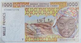 西アフリカ通貨連合 トーゴ共和国 未使用