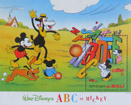 ミッキーのABC   マリ共和国