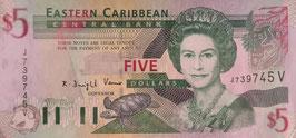 東カリブ諸国通貨同盟 アンティグア・バブータ 未使用