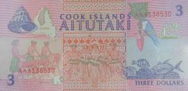 クック諸島大平洋アートフェイステバル開催記念紙幣 未使用