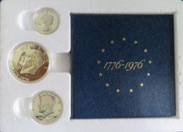 アメリカ独立200年記念プルーフ貨幣セット