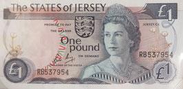 英国 ジャージー島 未使用