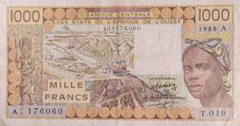 西アフリカ諸国通貨連合コートジボワール共和国 未使用