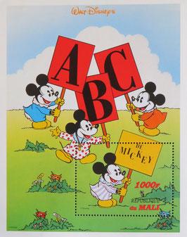 ミッキーがABC覚える マリ共和国