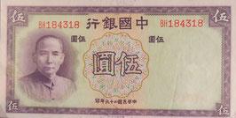 中国銀行 未使用