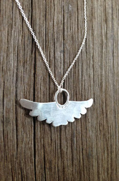 Mini wings -silver