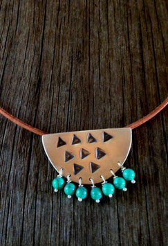 Large Modern Tribal Necklace