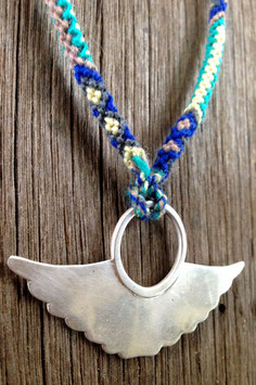 Silver Totem Wing Necklace