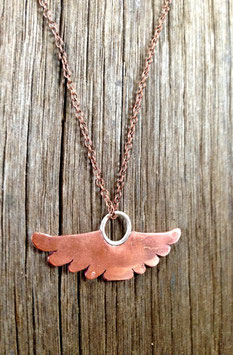 Mini copper totem- wings
