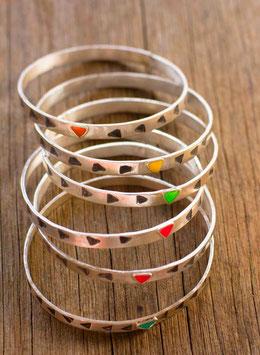 'chicks dig triangles' bracelet