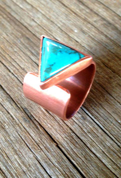 Arrow ring copper