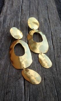 mollusc eaarings -pure silver