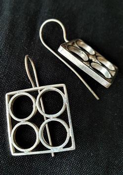 Bessa earrings - circular