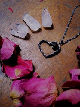"""Halskette """"braided heart"""""""