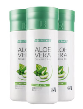 Aloe Vera Drinking Gel Intense Sivera 3er Pack