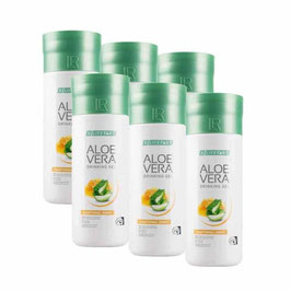 Aloe Vera Drinking Gel Traditionell mit Honig 6er Pack