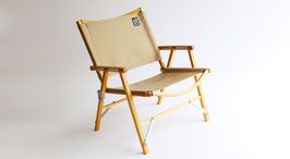 Kermit Chair‐Gold Beige