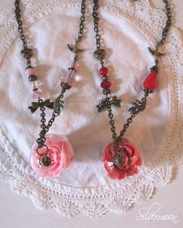 Kette konservierte Rose