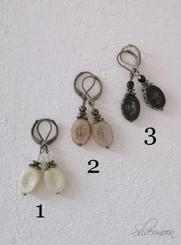 Ohrringe tschechische Glasperlen