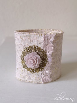 Armband elastisch rosa, Rose mauve
