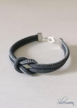 Herren Armband Jeans dunkelblau