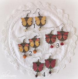 Ohrringe butterfly 2