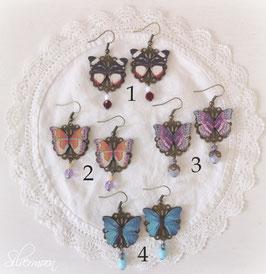 Ohrringe butterfly 1